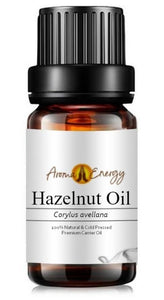 Hazelnut Oil - Base/Carrier Oils, Pure & Natural - Aroma Energy