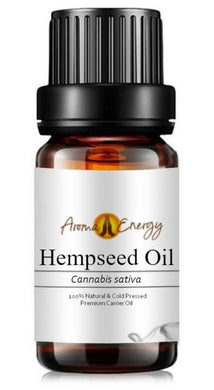 Hempseed Oil - Base/Carrier Oils, Pure & Natural - Aroma Energy