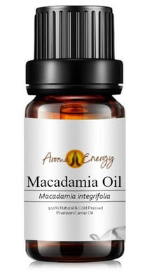 Macadamia Oil - Base/Carrier Oils, Pure & Natural - Aroma Energy
