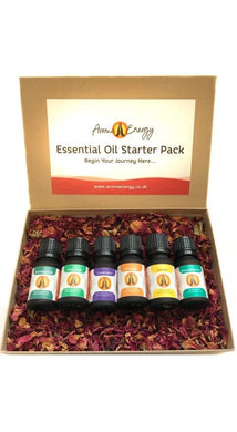 Starter Pack - Essential Oil Gift Set - Aroma Energy