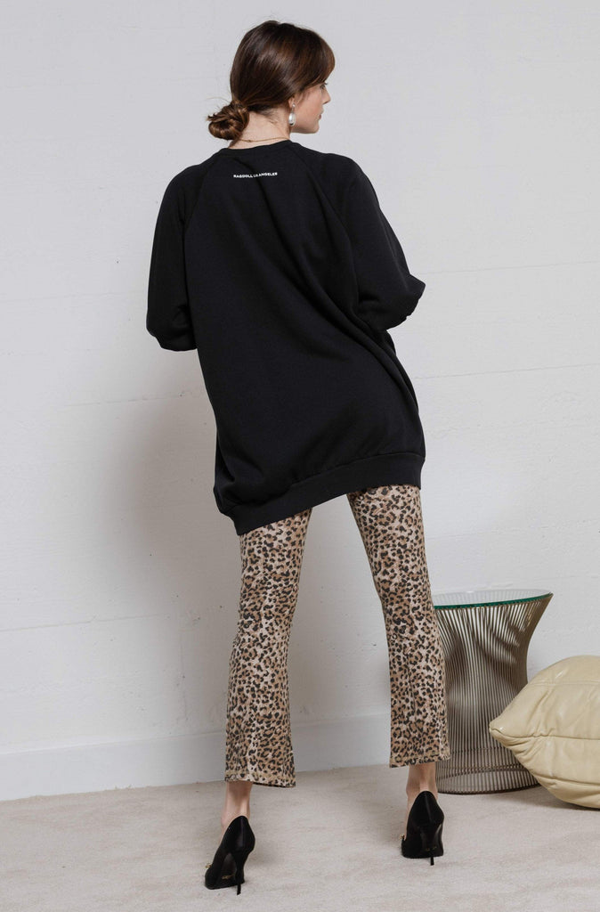 Ragdoll LA Leopard Crop Leggings