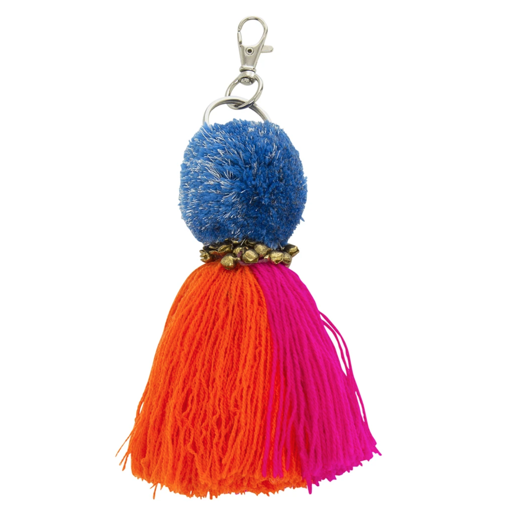 Langdon Bell Multicolour Key Ring