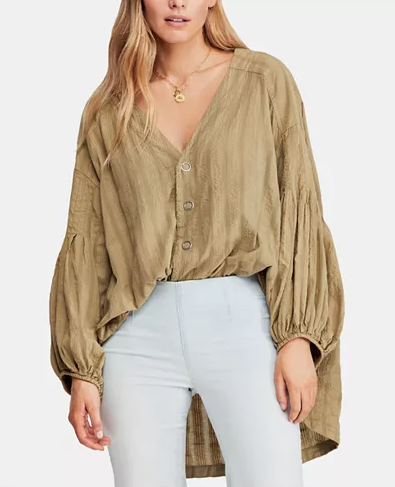Free People Feel It Still Blouse