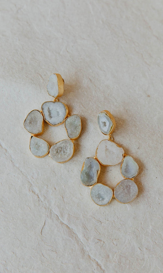 Natalie Alamein Iona Frost Earrings