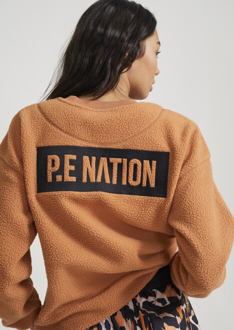 PE Nation Set Shot Sweat Caramel
