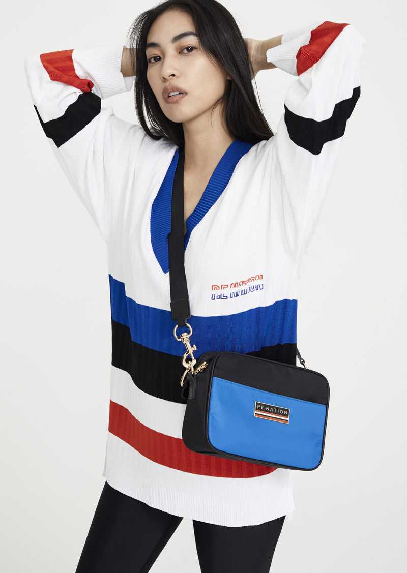 PE Nation Shoulder Bag With Strap