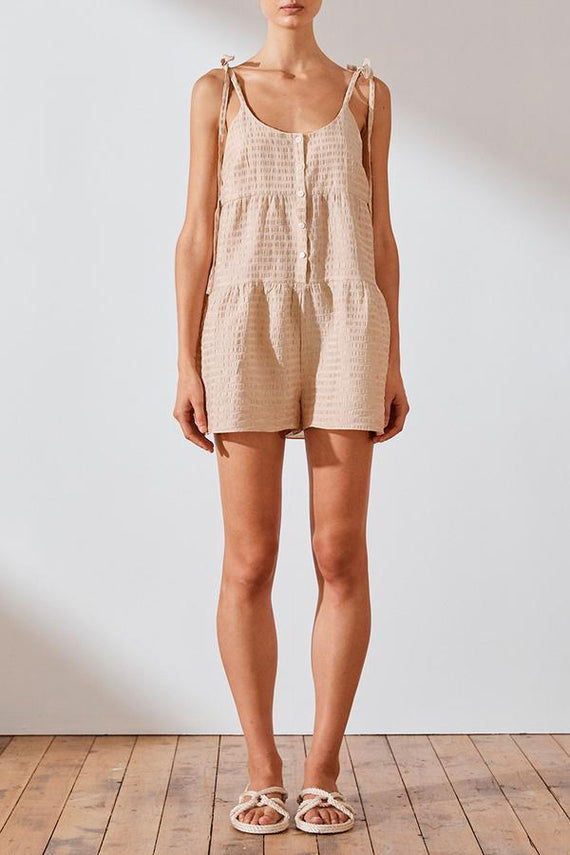 Shona Joy Farina Tiered Playsuit