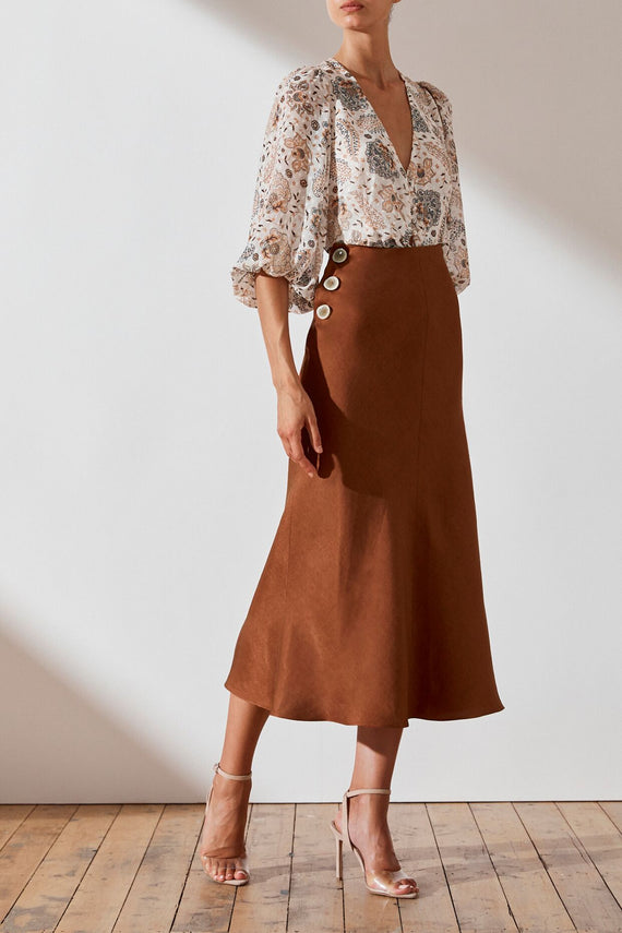 Shona Joy Ellington Midi Skirt