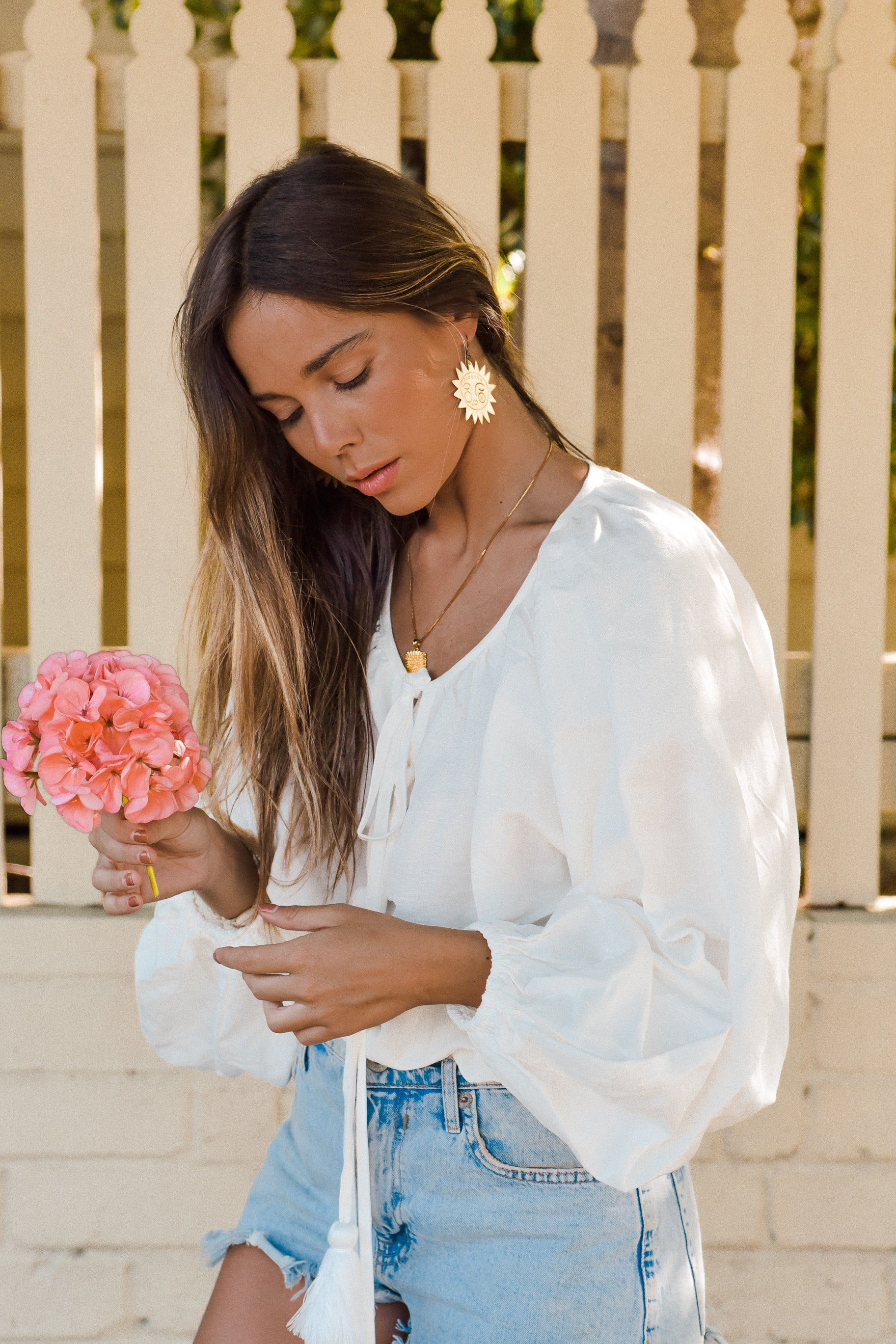 Marlowe Linen Billow Blouse