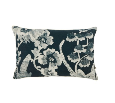Bonnie & Neil Cattleya Indigo Cushion
