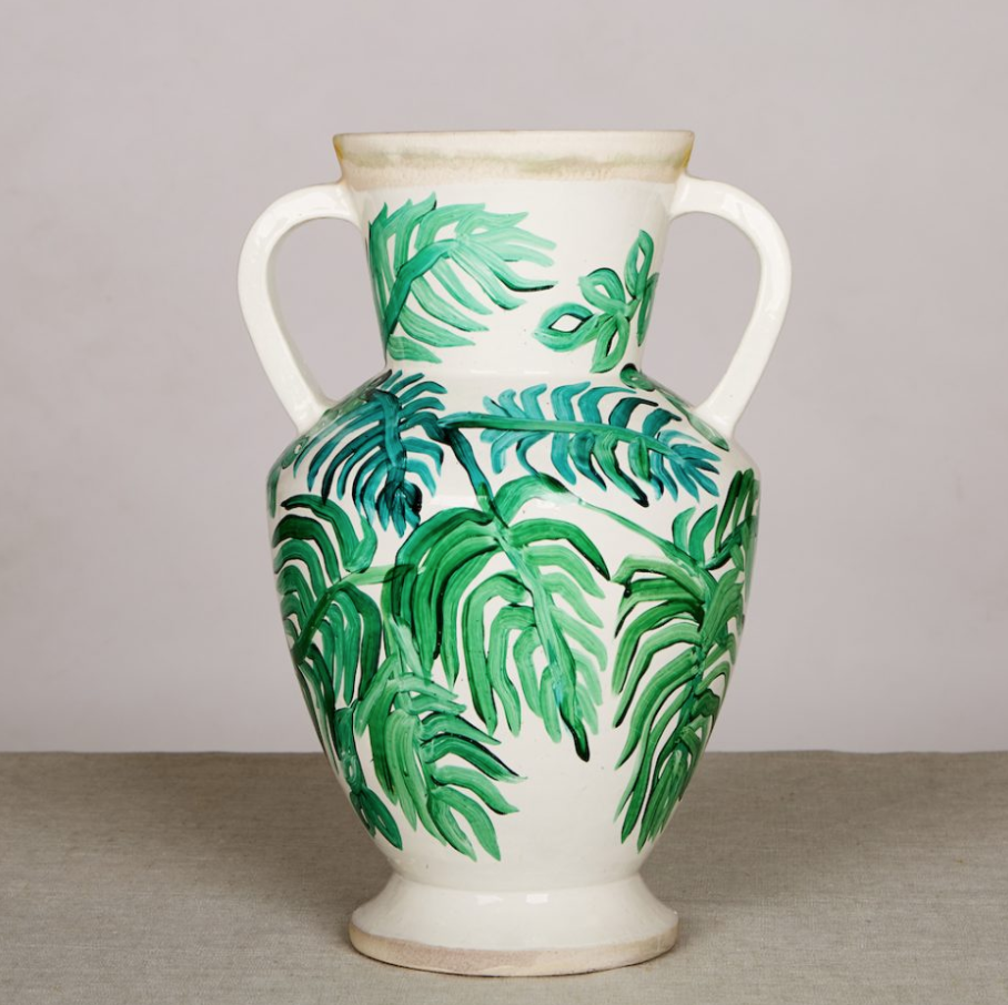 Palms Green Large Vase