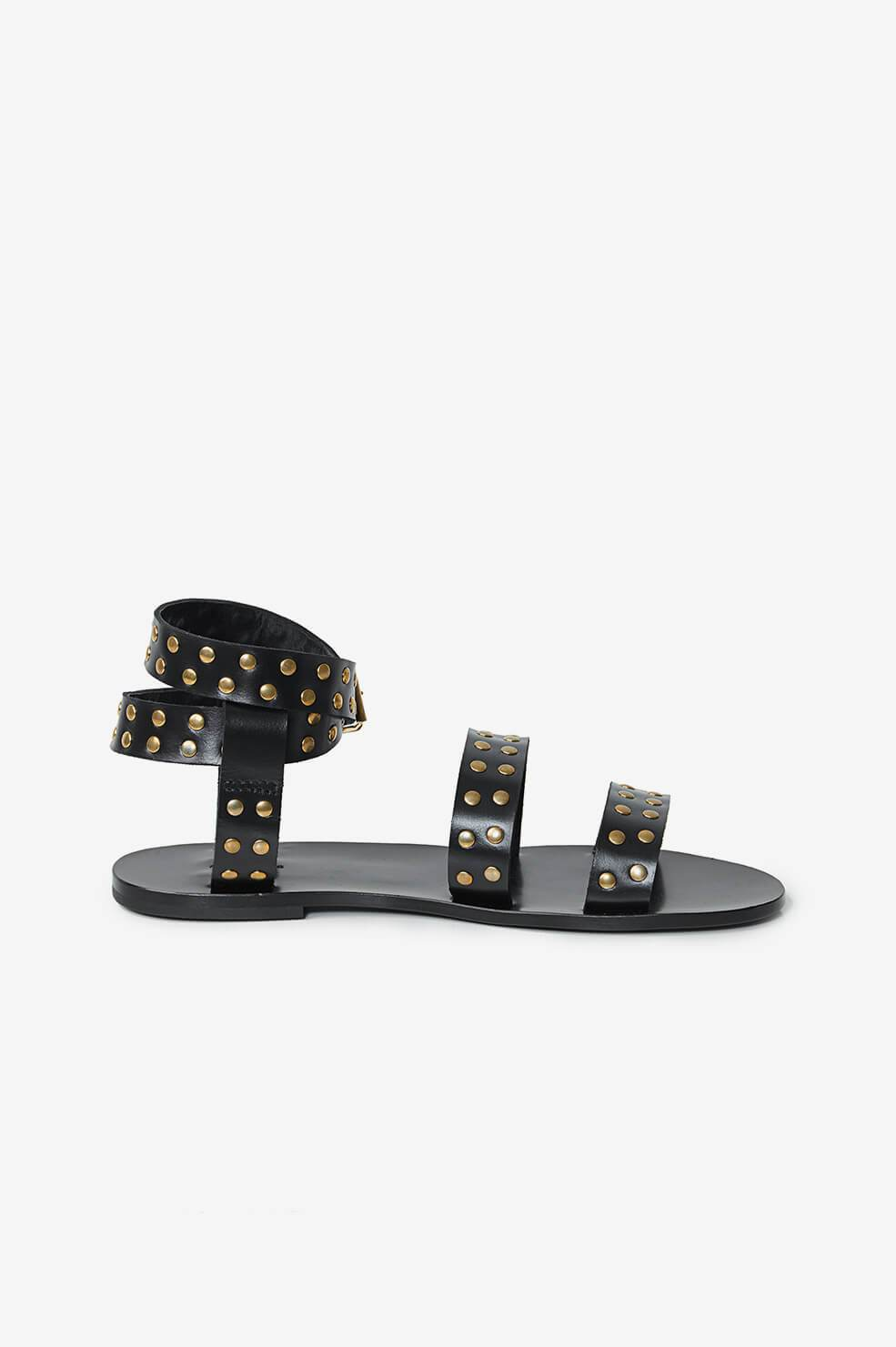 Anine Bing Gia Sandals Black