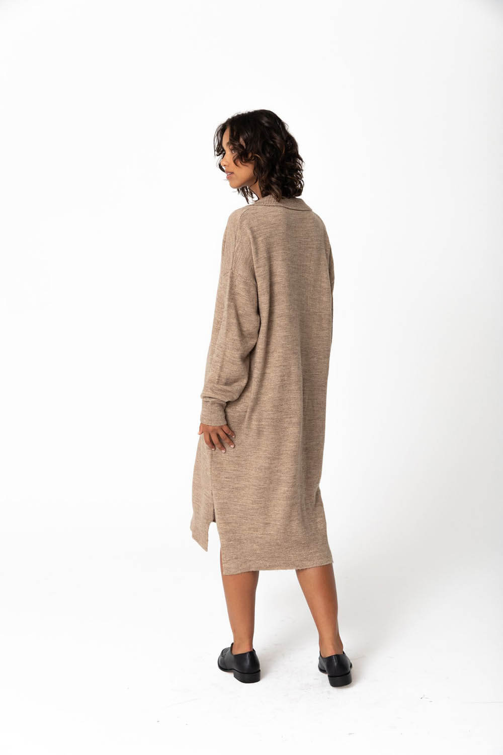 Rowie Alexis Knit Midi Pebble