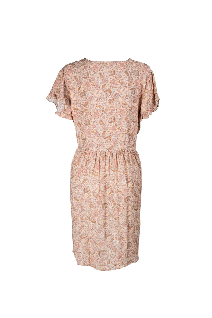 Indian Summer Co Sunlight Mini Dress Rose