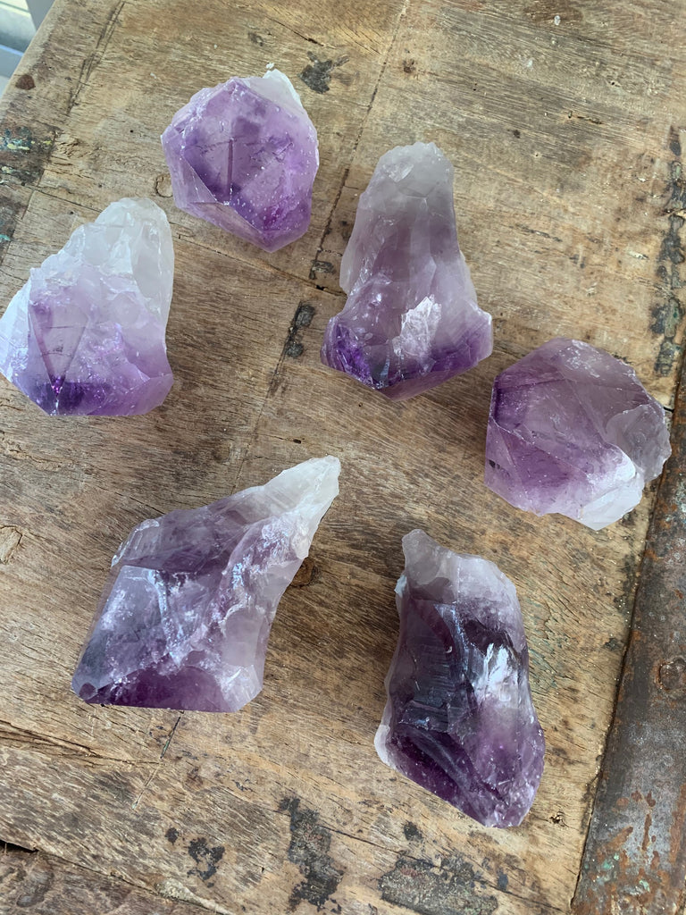 Amethyst Point w/Root