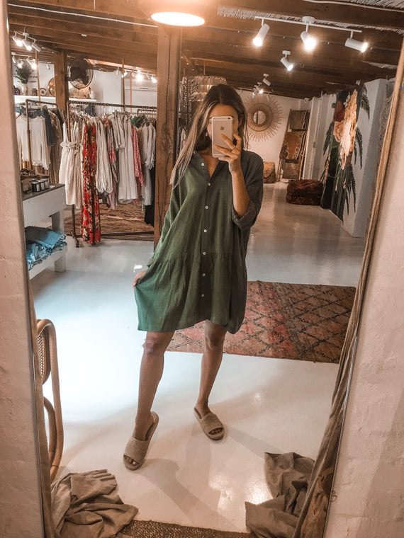 La Boheme Girls Oscar Shirt Dress