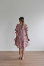 La Bohème Girls Willow Mini Dress Vintage Floral