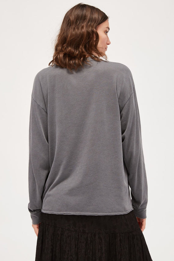 Lacausa Long Sleeve Crewneck Slate