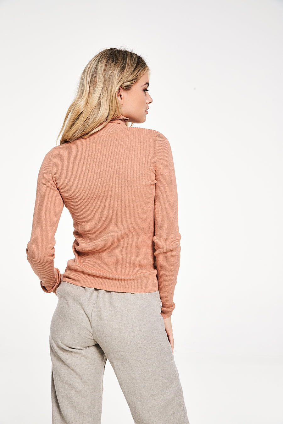 Rowie Meg Knit Deep Clay