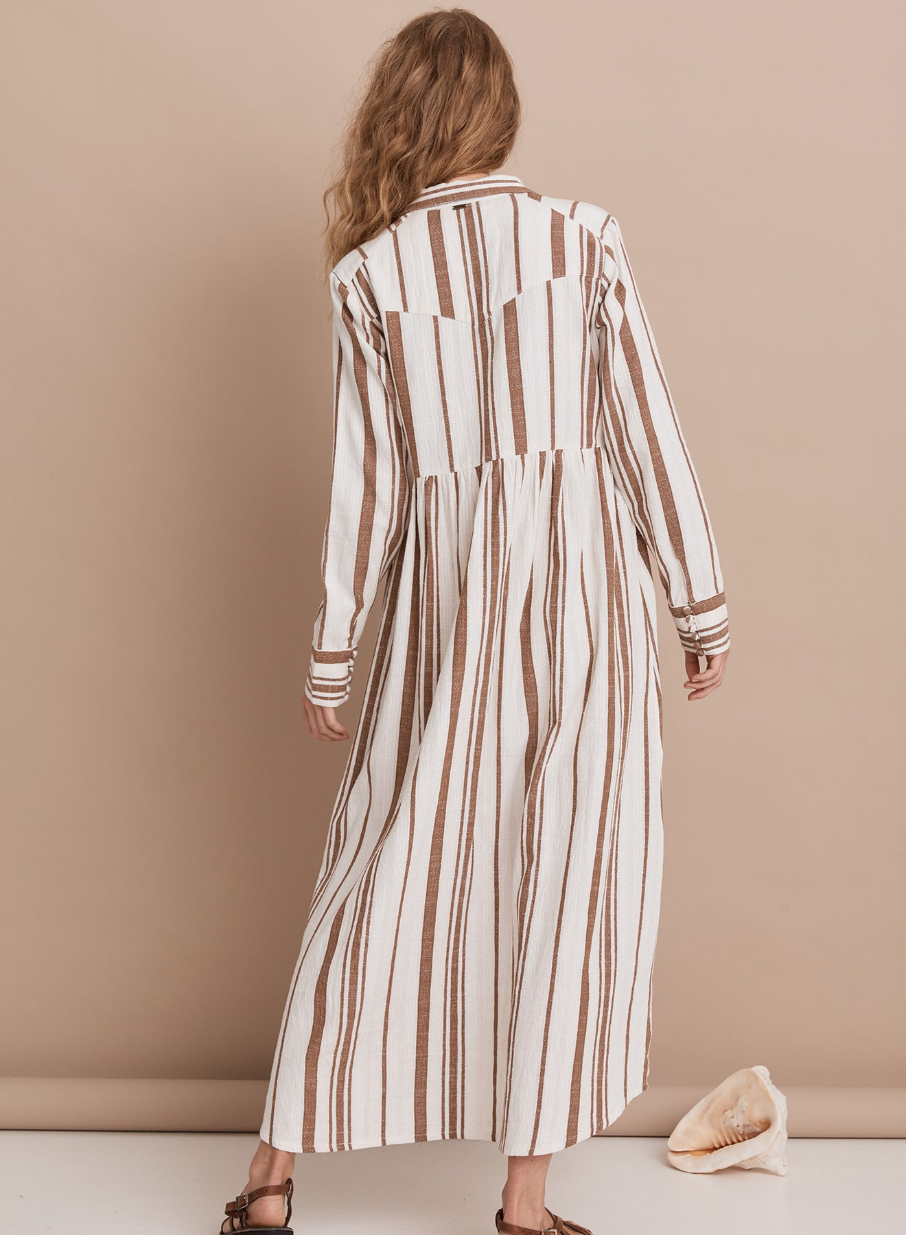The Saint Helena Sandlines Maxi Dress