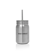 Seed & Sprout Stainless Steel Smoothie Cup