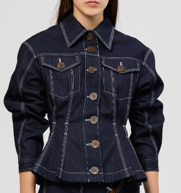 Acler Priestly Denim Jacket