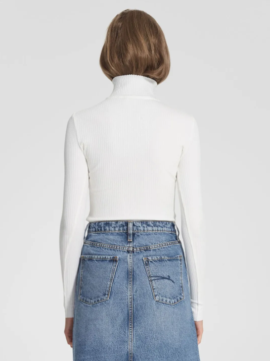 Nobody Denim Luxe Rib Long Sleeve