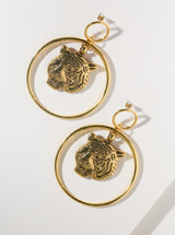 Latifah Tiger Earrings