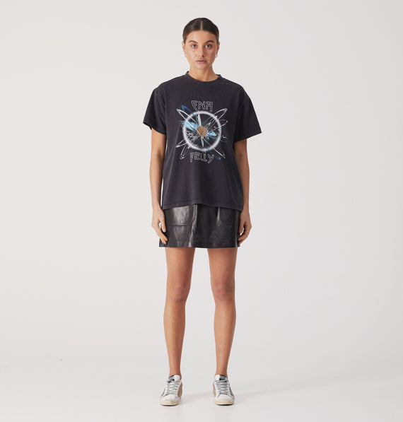 Ena Pelly Mystic Graphic Tee Black