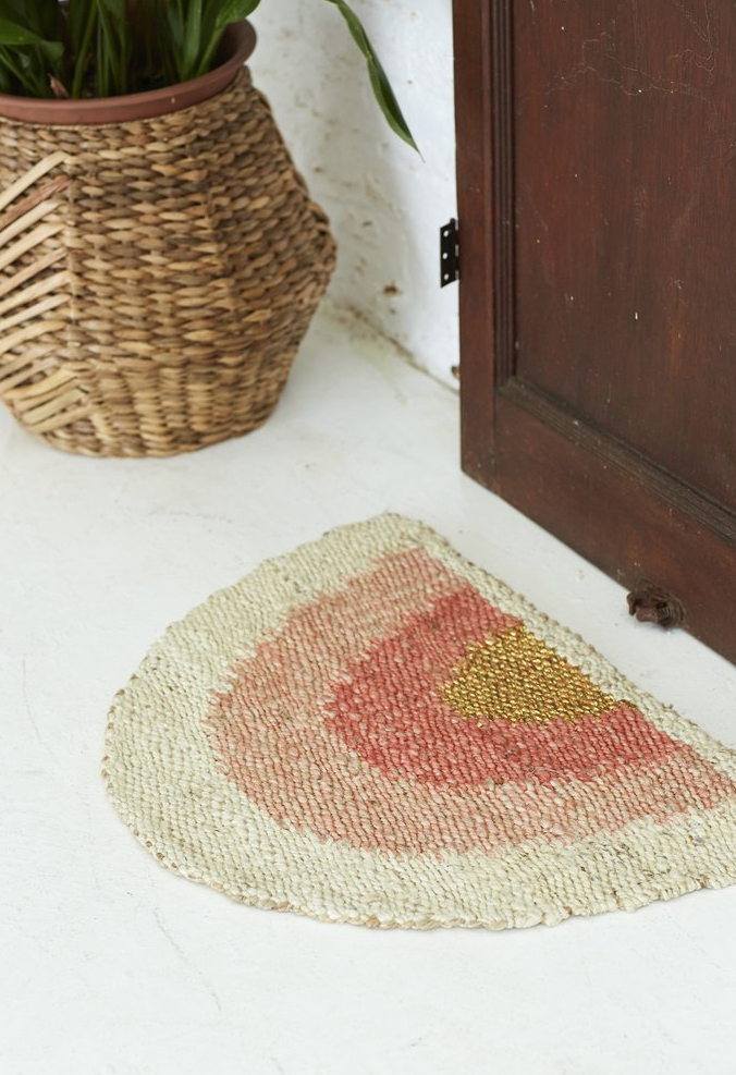 Aquarius Round Doormat