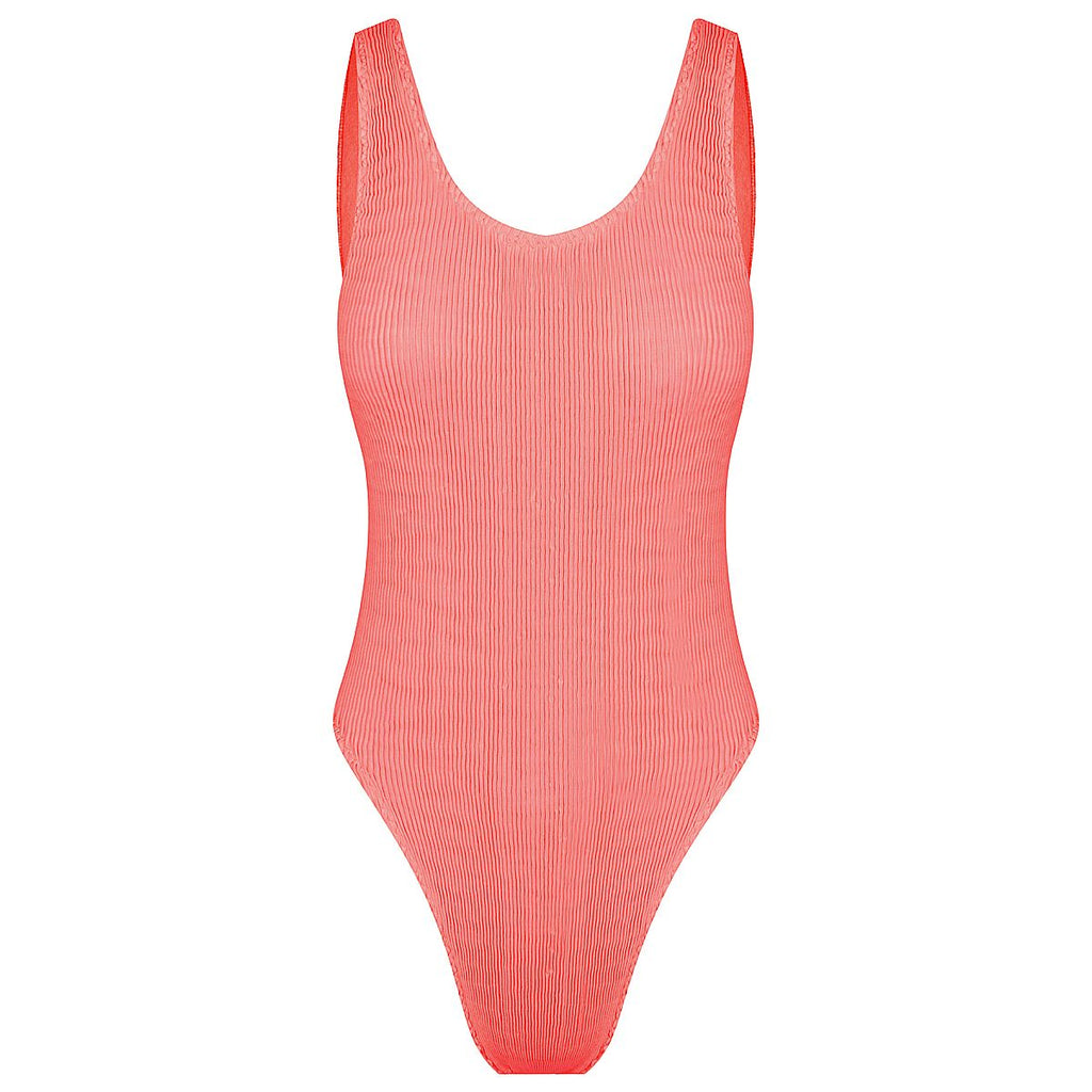 Cleonie Bathe Maillot Coral