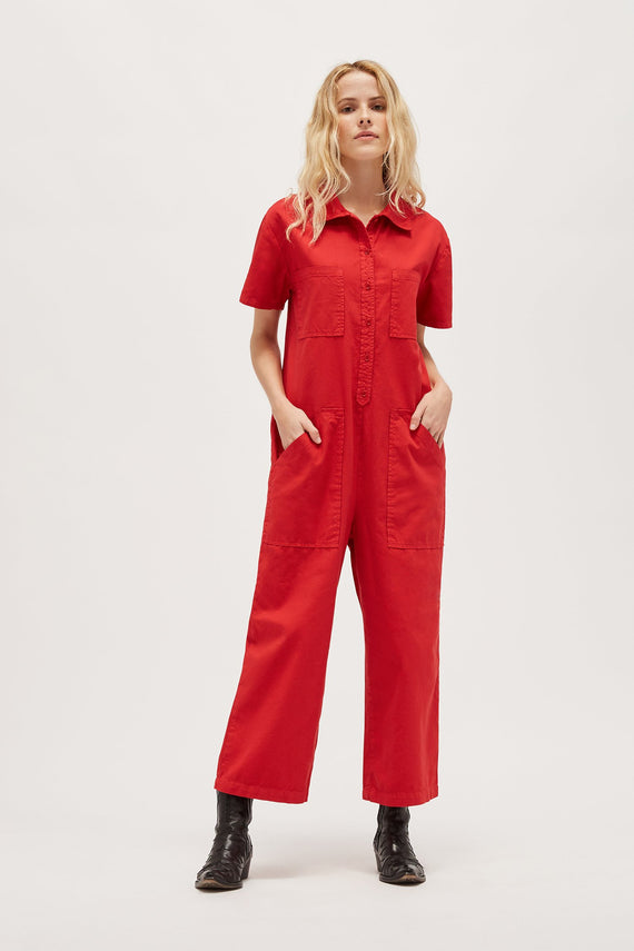 Lacausa Lucky Jumpsuit Mustang