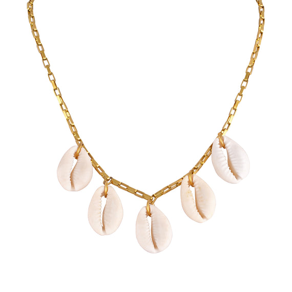Mayol The Cowries Chain Choker