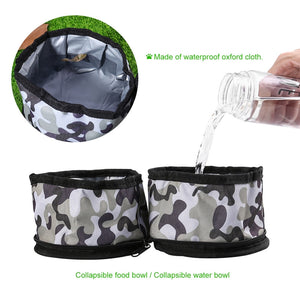 Waterproof Travel  Bowl  for Dogs and Cats