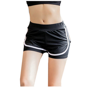 Women Running Yoga Volleyball Shorts