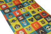 Animal Allsorts Multifunctional Scarf RUFFNEK® Multi colour