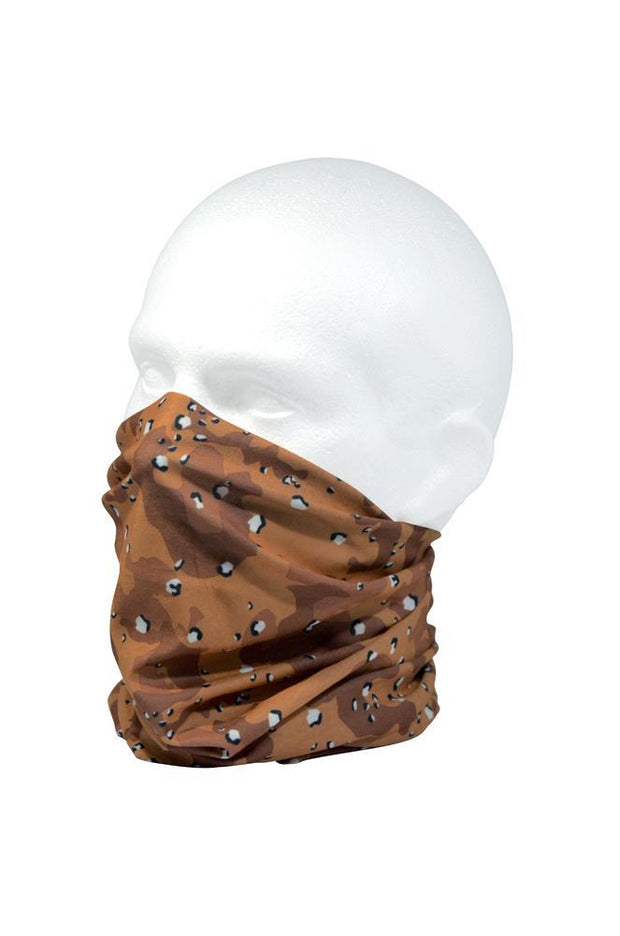 Army Desert Camo Neck Gaiter RUFFNEK® Brown