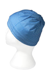 Blue Polkadot Multifunctional Scarf RUFFNEK® Blue