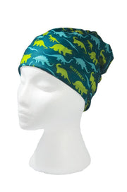 Dinosaurs Multifunctional Scarf RUFFNEK® Green/Blue