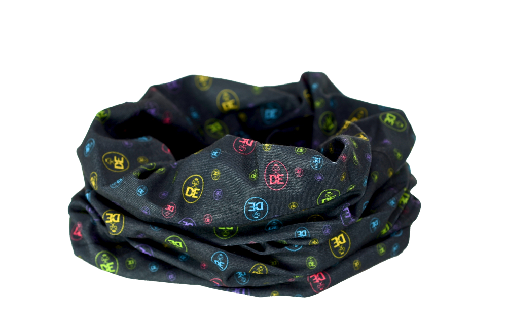DofE Expedition Multi Scarf Headwear Multifunctional Scarf RUFFNEK® Black