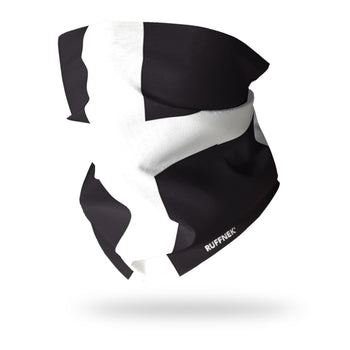 Cornwall Flag Multifunctional Scarf RUFFNEK® Black/White