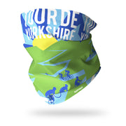 Tour de Yorkshire Multifunctional Scarf RUFFNEK® Blue/Green/Yellow