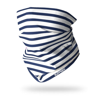 Breton Stripe Multifunctional Scarf RUFFNEK® Blue/White