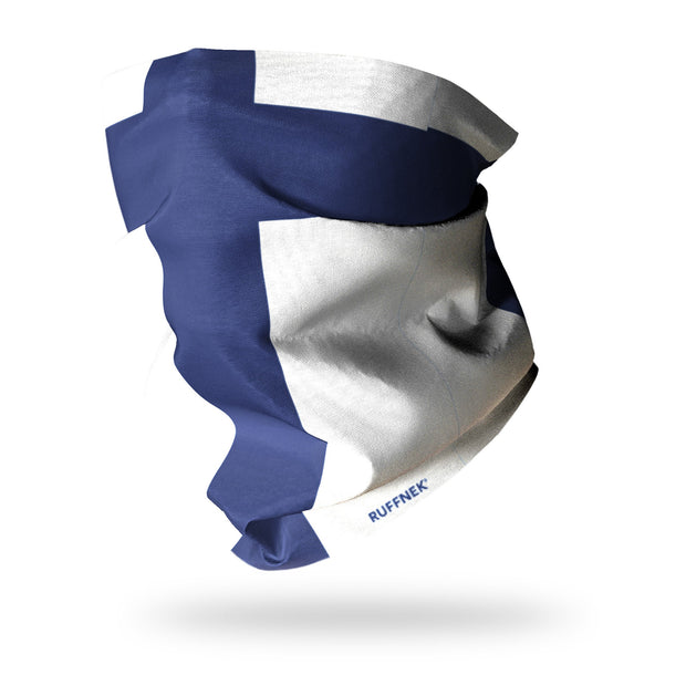 Flag of Finland Multifunctional Scarf RUFFNEK® Blue/White