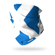 Flag of Scotland / The Saltire Multifunctional Scarf RUFFNEK® Blue/White