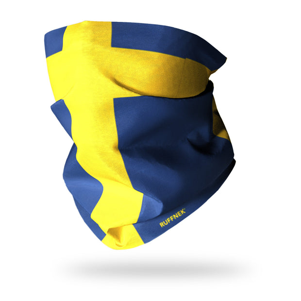 Flag of Sweden Multifunctional Scarf RUFFNEK® Blue/Yellow