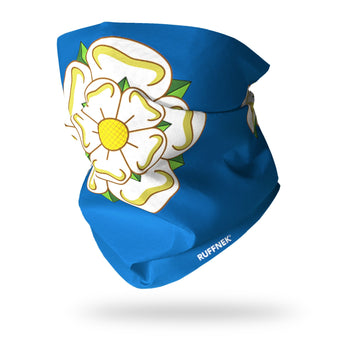Yorkshire Rose Flag Multifunctional Scarf RUFFNEK® Blue