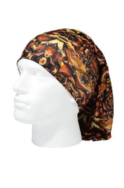 Autumn Leaves Camo Multifunctional Scarf RUFFNEK® Brown