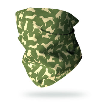 Dogs Multifunctional Scarf RUFFNEK® Country Green