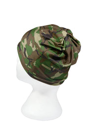 Army Woodland Camo Multifunctional Scarf RUFFNEK® Green